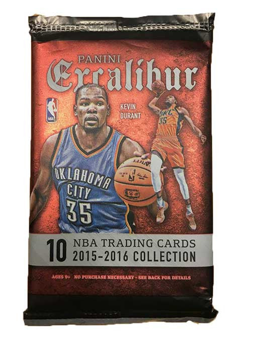 2015/16 Panini Excalibur Basketball Hobby Pack - Cherry Collectables - 1