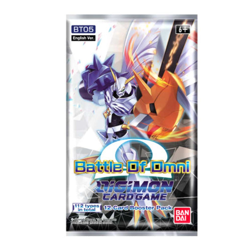 Digimon Card Game Series 05 Battle of Booster Pack Omni BT05 (Pre-Order July)-Cherry Collectables