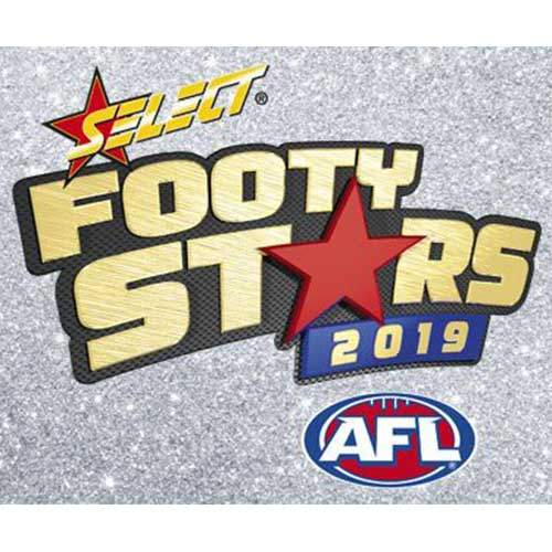 2019 Select AFL Footy Stars Hobby 12-Box Case-Cherry Collectables
