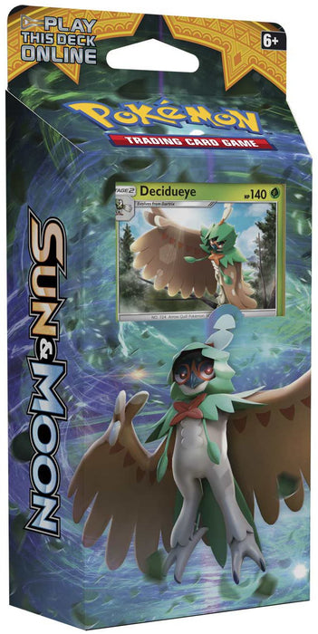 POKEMON TCG Sun & Moon Forrest Shadow Theme Deck - Decidueye-Cherry Collectables