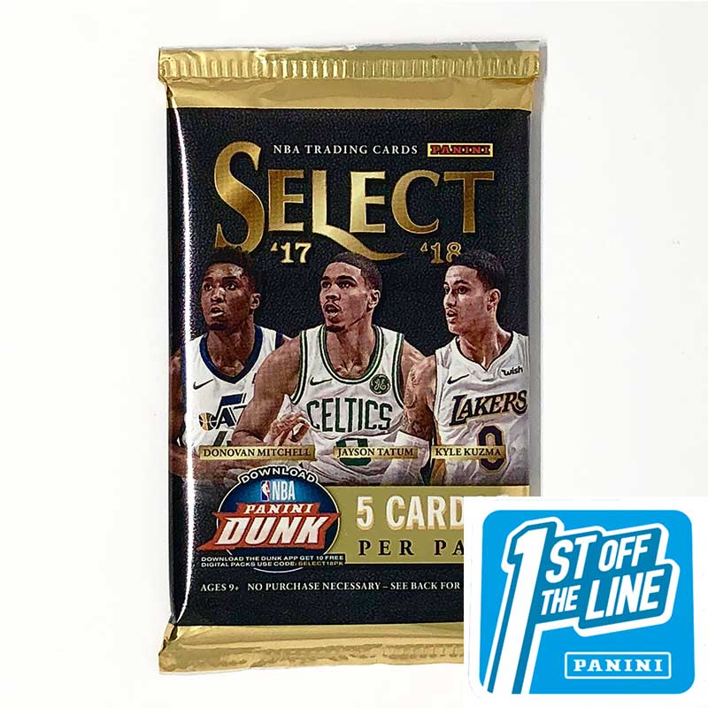 2017/18 Panini Select Basketball FOTL Hobby Pack-Cherry Collectables
