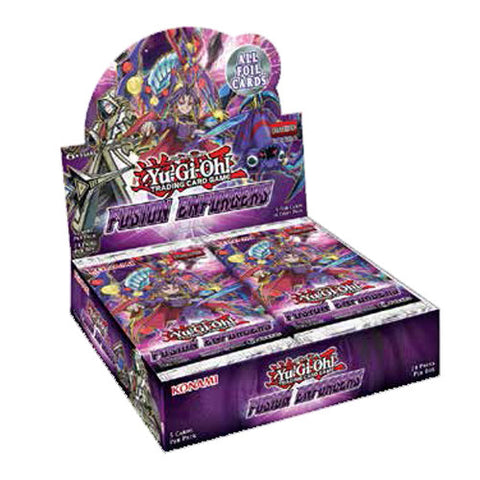 Yu-Gi-Oh! TCG Fusion Enforcers Booster 12-Box Case (Pre Order 15 Feb) - Cherry Collectables