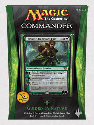 Magic The Gathering Commander Deck (2014) - Guided by Nature-Cherry Collectables