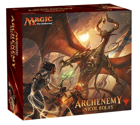 Magic the Gathering - Archenemy Nicol Bolas-Cherry Collectables
