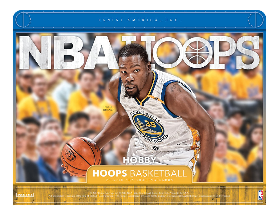2017-18 NBA Hoops Basketball Hobby Box-Cherry Collectables