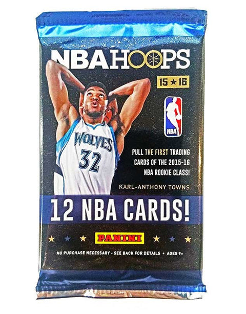 2015/16 NBA Hoops Basketball Hobby Pack-Cherry Collectables