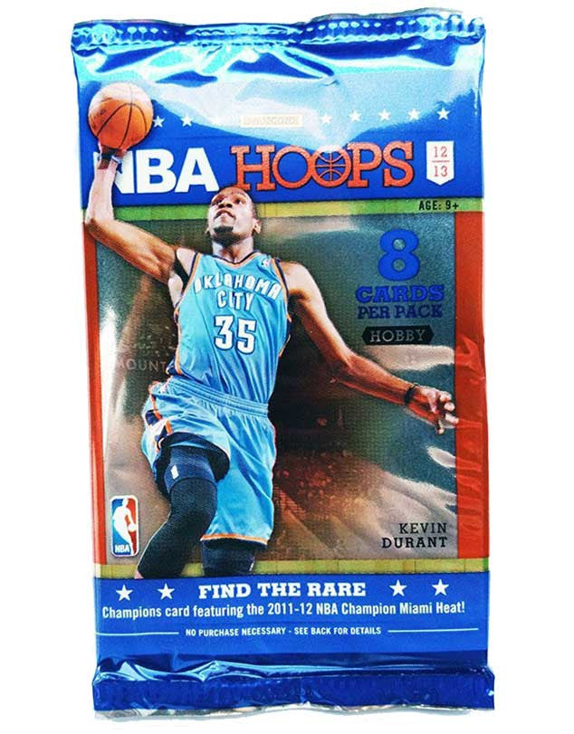 2012/13 NBA Hoops Basketball Hobby Pack-Cherry Collectables