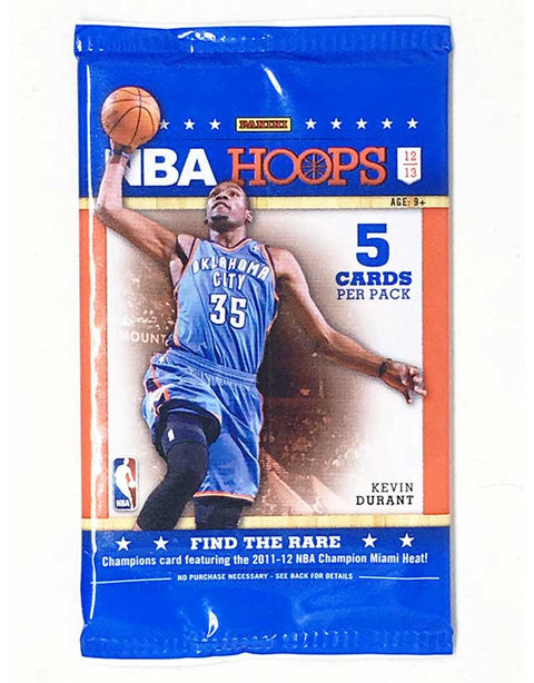 2012/13 NBA Hoops Basketball Retail Pack-Cherry Collectables
