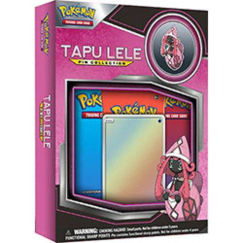 Pokemon TCG Pin Collection - Tapu Lele (Pre Order Aug 4)-Cherry Collectables