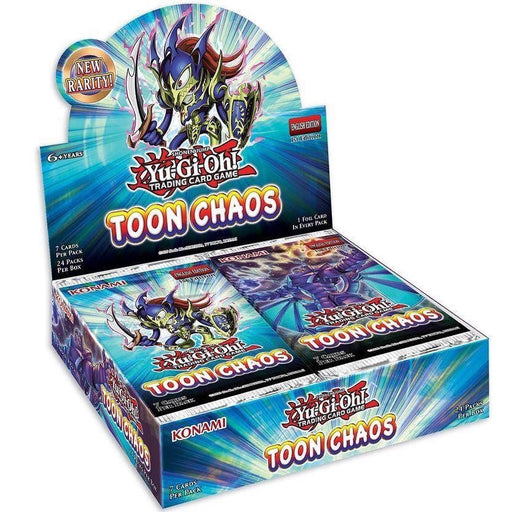 YU-GI-OH! TCG Toon Chaos Booster Box (Pre Order Jun 18)-Cherry Collectables