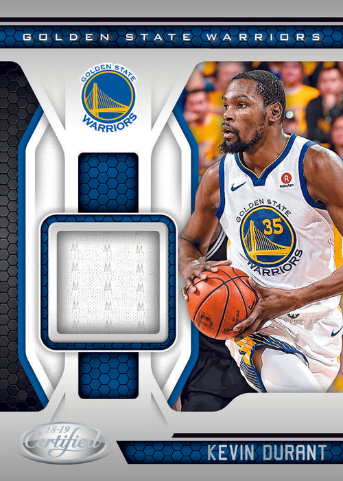2018-19 Panini Certified Basketball Hobby Pack-Cherry Collectables