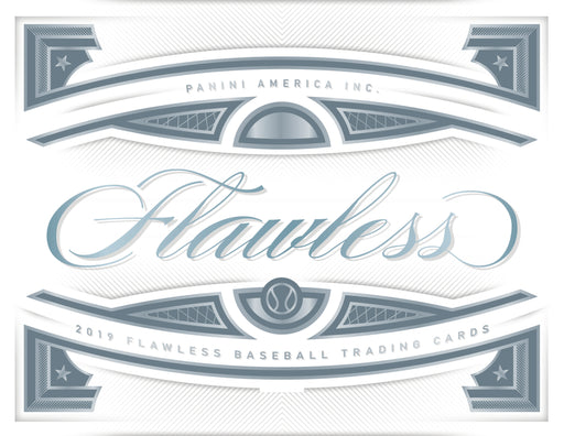 2019 Panini Flawless Baseball Hobby Box (Pre Order Oct 30)-Cherry Collectables
