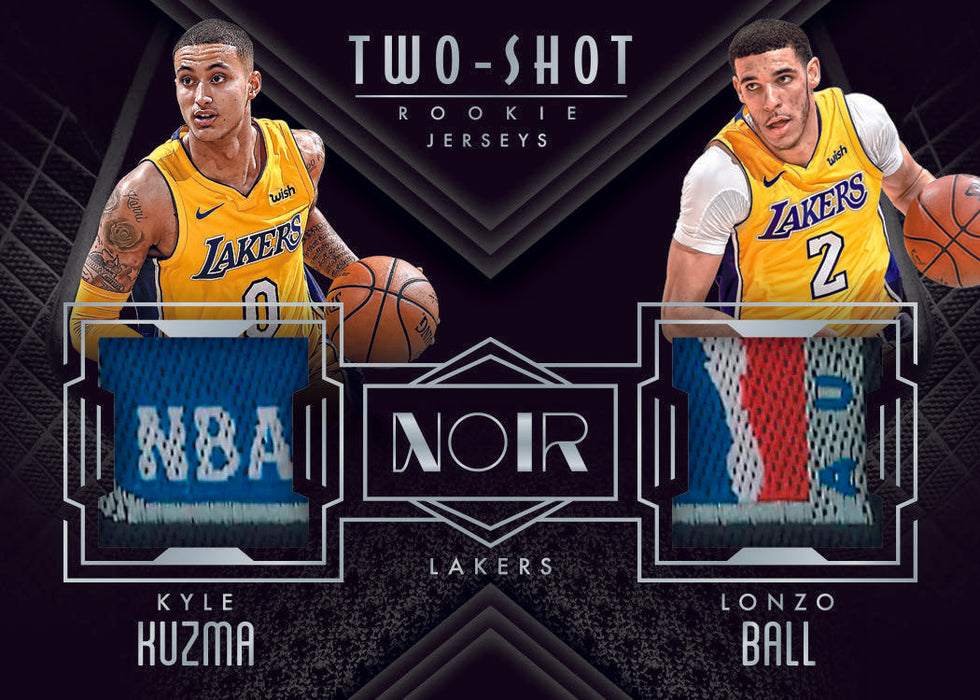 17-18 Noir NBA 1-Box Break #171 (LAKERS GIVEAWAY) - Team Based - Jun 24 (Night)-Cherry Collectables