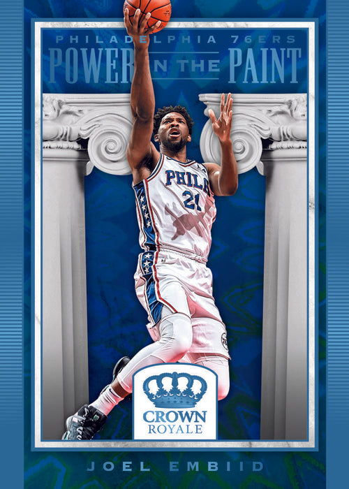 2018-19 Panini Crown Royale Basketball Hobby Box (Pre Order Jan 23)-Cherry Collectables