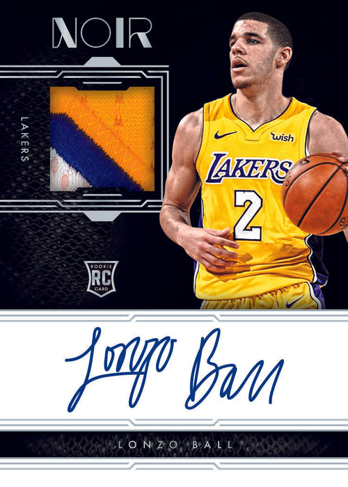 17-18 Noir NBA 1-Box Break #170 (LAKERS GIVEAWAY) - Team Based - Jun 23 (Night)-Cherry Collectables