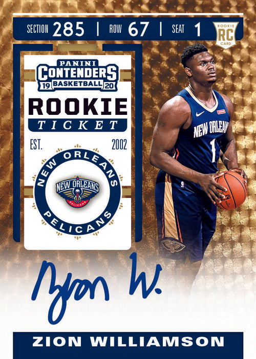 2019-20 Panini Contenders Basketball Hobby Box-Cherry Collectables