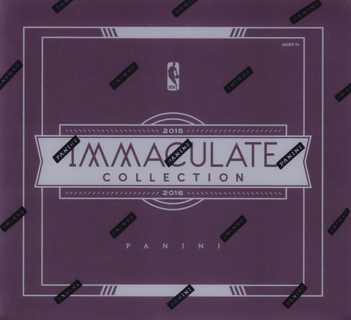 2015/16 Panini Immaculate Basketball Hobby Box-Cherry Collectables