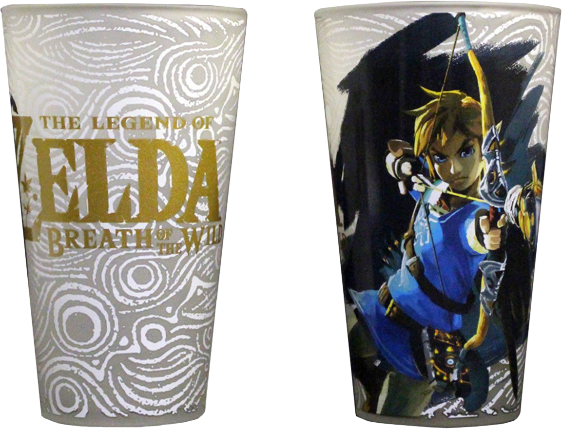 Zelda Pint Glass Set of 2-Cherry Collectables
