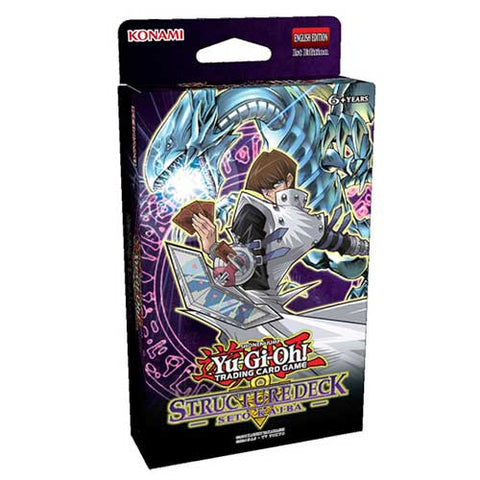 Yu-Gi-Oh! Seto Kaiba Structure Deck - Three Pack - Cherry Collectables - 1