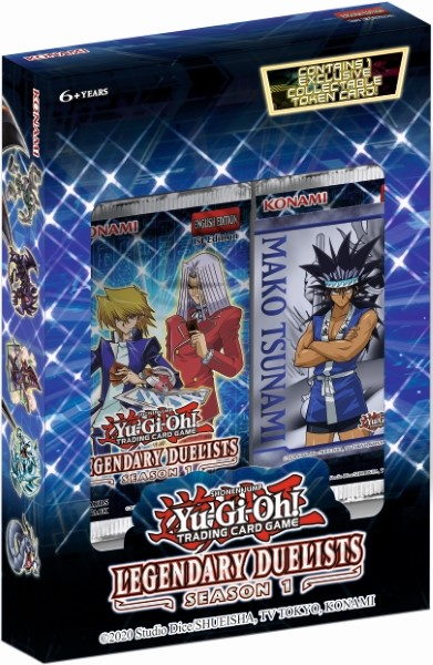 YU-GI-OH! TCG Legendary Duelists Box - Season 1 Booster Box-Cherry Collectables