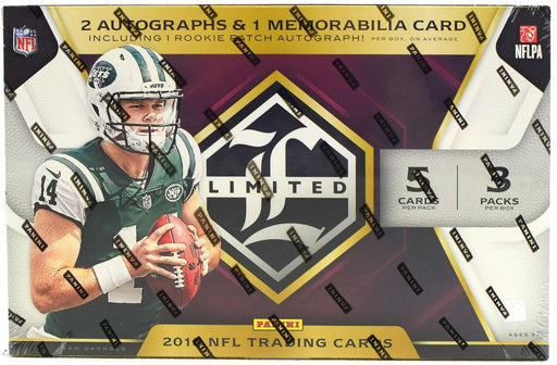 2018 Panini Limited Football Hobby Box-Cherry Collectables