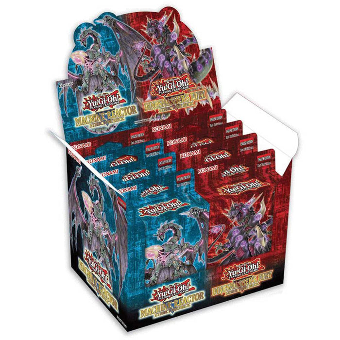 Yu-Gi-Oh! Machine Reactor & Dinosmasher's Fury Structure Deck 12-Box Case-Cherry Collectables