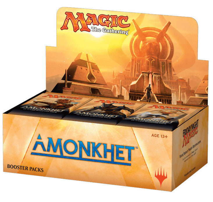 Magic the Gathering Amonkhet Booster 6-Box Case-Cherry Collectables