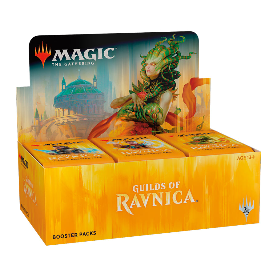 Magic the Gathering Guilds of Ravnica Booster Box-Cherry Collectables