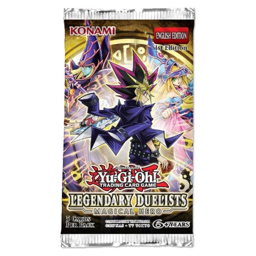 Yu-Gi-Oh! TCG Legendary Duelist: Magical Hero Booster Pack 1st Edition-Cherry Collectables