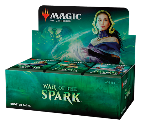 Magic the Gathering War of the Spark Booster Box (Pre Order May 3)-Cherry Collectables