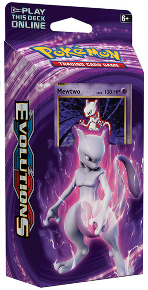 Pokemon XY Evolutions Theme Deck - Mewtwo-Cherry Collectables