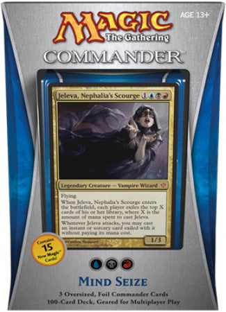 Magic the Gathering Commander Deck (2013) - Mind Seize-Cherry Collectables