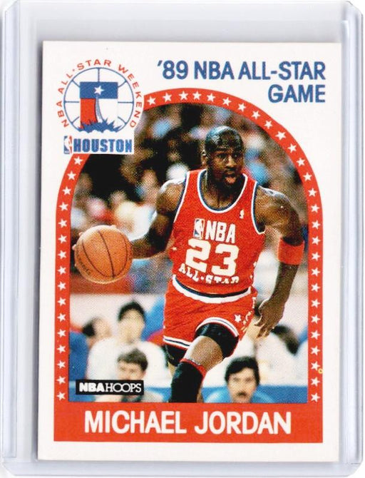 1989 NBA Hoops MICHAEL JORDAN 89 All Star Game #21 - B-Cherry Collectables