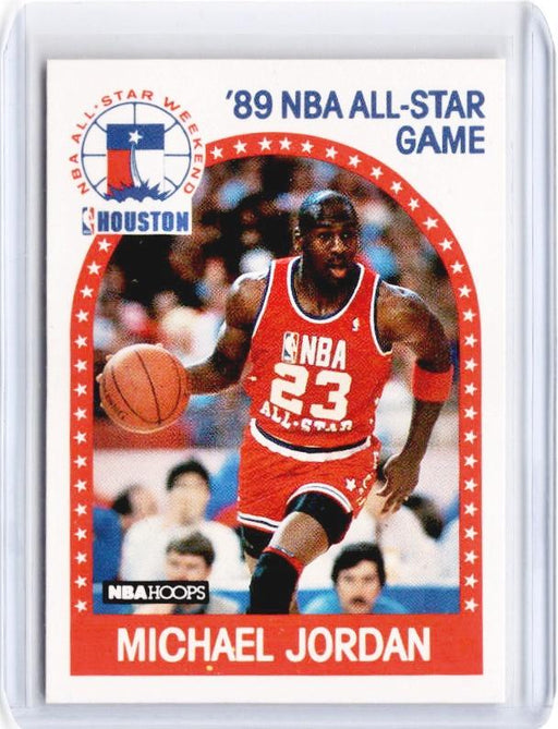 1989 NBA Hoops MICHAEL JORDAN 89 All Star Game #21 - C-Cherry Collectables