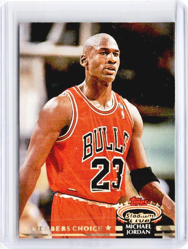 1993-94 Topps Stadium Club MICHAEL JORDAN Members Choice #210 - B-Cherry Collectables