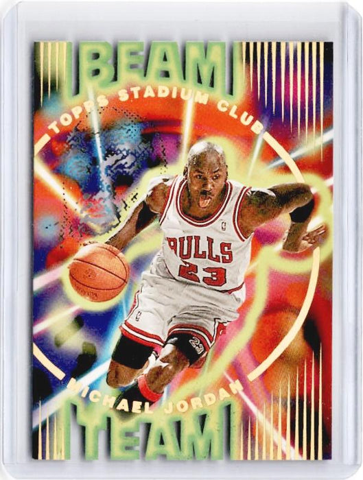 1995-96 Topps Stadium Club MICHAEL JORDAN Beam Team #1 - B-Cherry Collectables