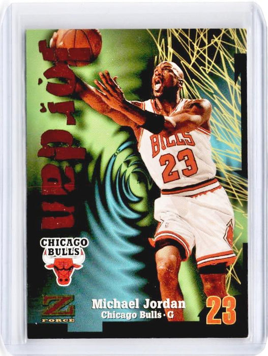 1997 Skybox MICHAEL JORDAN Z Force #23-Cherry Collectables