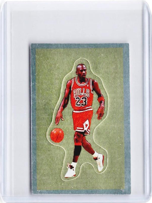 1991-92 Panini Basketball MICHAEL JORDAN Sticker #190 - A-Cherry Collectables