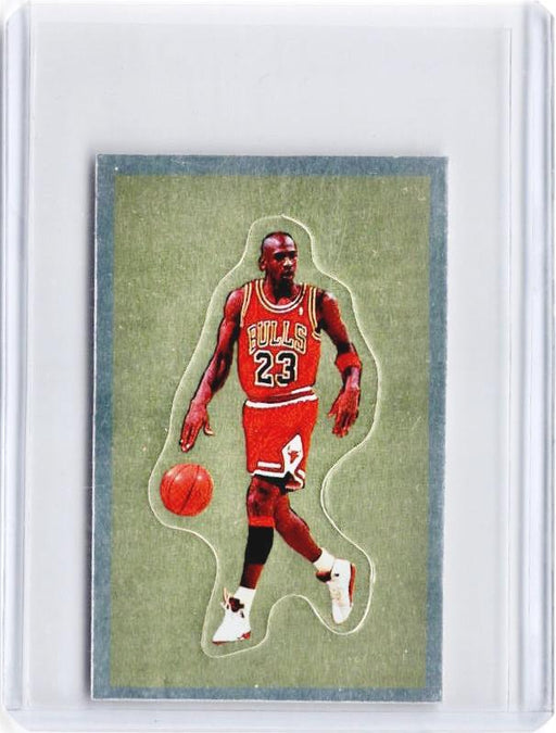 1991-92 Panini Basketball MICHAEL JORDAN Sticker #190 - B-Cherry Collectables