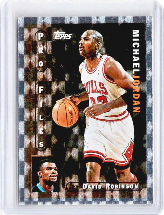 1996-97 Topps MICHAEL JORDAN Pro Files #PF3 - C-Cherry Collectables