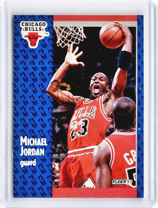 1991 Fleer MICHAEL JORDAN #29-Cherry Collectables