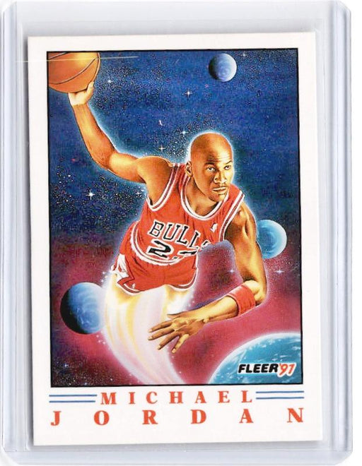 1991 Fleer MICHAEL JORDAN #2-Cherry Collectables