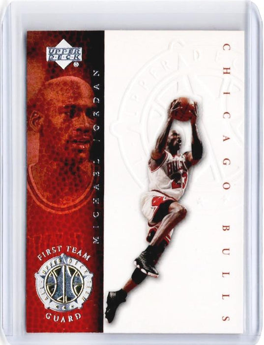 1999-00 NBA Legends MICHAEL JORDAN First Team Guard #71-Cherry Collectables