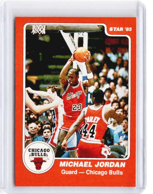 1985 Star MICHAEL JORDAN Rookie REPRINT #101 - A-Cherry Collectables
