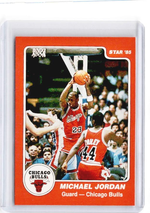 1985 Star MICHAEL JORDAN Rookie REPRINT #101 - B-Cherry Collectables