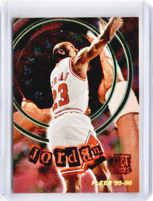 1995-96 Fleer MICHAEL JORDAN Total O Hot Packs #2-Cherry Collectables