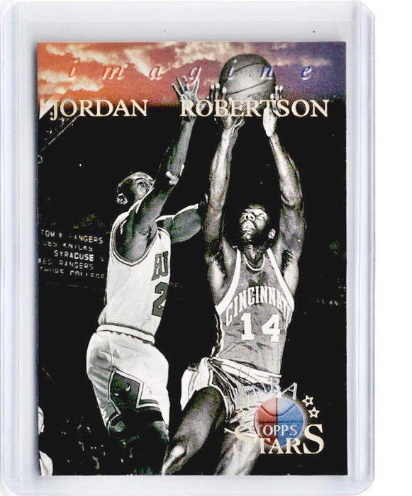 1996 Topps Stars MICHAEL JORDAN OSCAR ROBERTSON Imagine #I6-Cherry Collectables