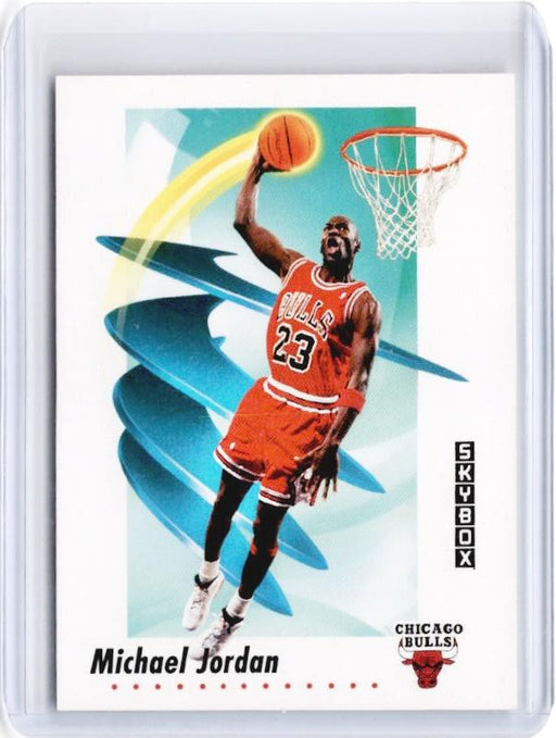 1991-92 Skybox MICHAEL JORDAN #39-Cherry Collectables