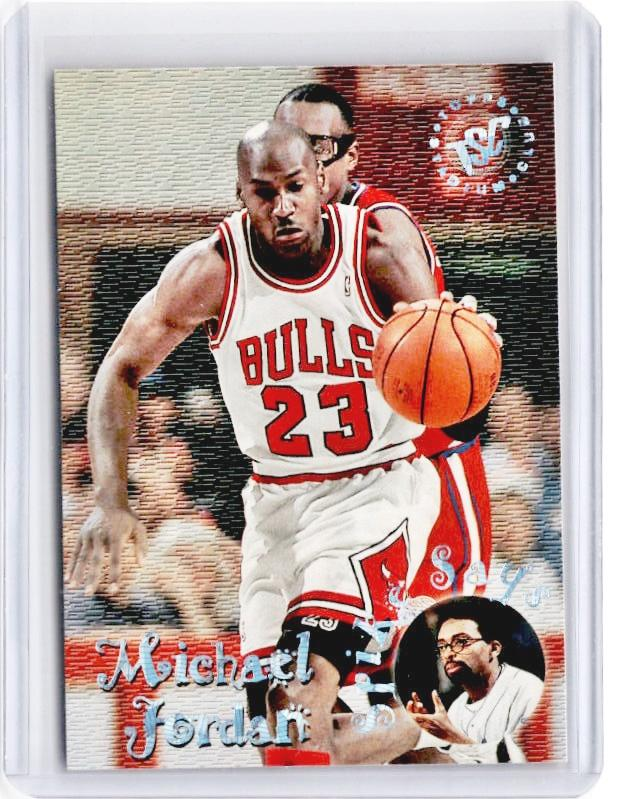 1995-96 Topps Stadium Club MICHAEL JORDAN Spike Says #SS1-Cherry Collectables