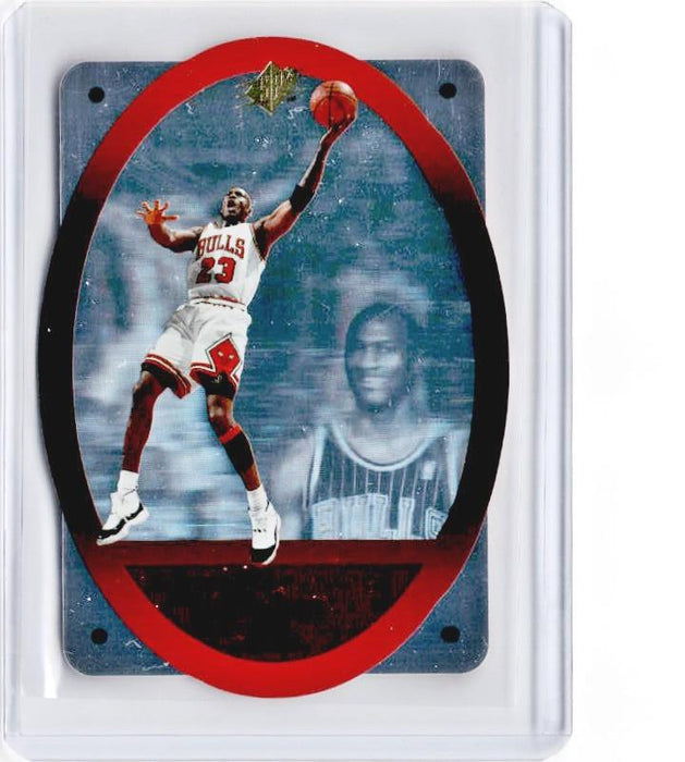 1996-97 SPx MICHAEL JORDAN Die Cut Red #8-Cherry Collectables